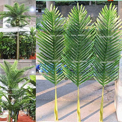 - FidgetKute 104cm 18pcs Patio Sago Artificial Palm Leaf Plant Tree Branch Frond Home Decor