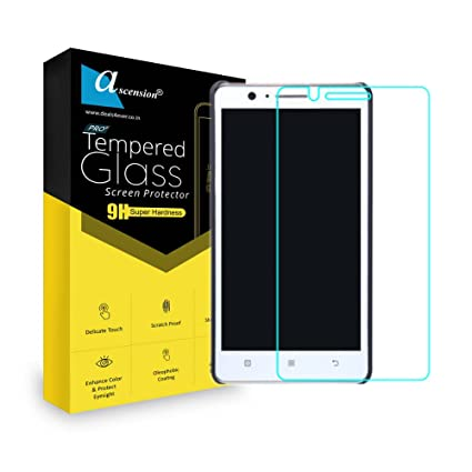 save off b7b0f 7e043 Ascension Curve Tempered For Lenovo K8 Note Gorilla Glass Screen Protector  High Premium Quality 9H Hard 2.5D Ultra Clear Set Of 1