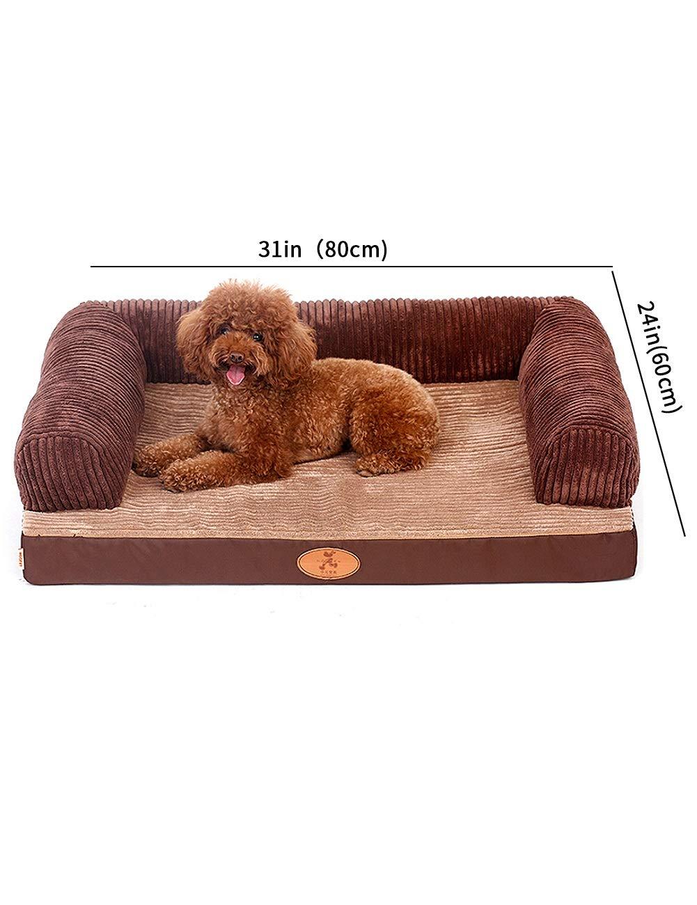 Amazon.com : ZYear Orthopedic Ultra Plush Sofa-Style Couch ...