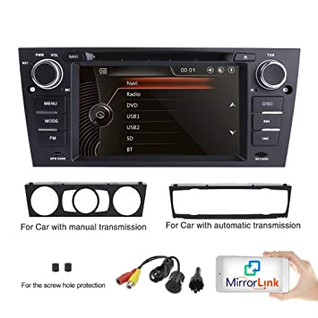 freeauto coche reproductor de DVD GPS 7 pulgadas BMW Original UI 1080 P pantalla táctil capacitiva