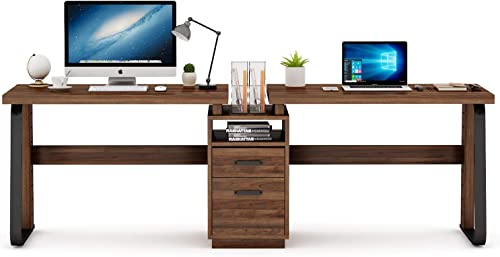 Tribesigns 94.5 inches Two Person Desk Review