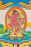 Tibetan Buddhist Goddess Kurukulla: The Red Tara - Tibetan Thangka Painting