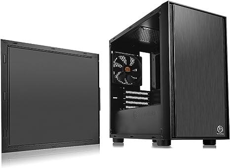 Thermaltake Versa H17 Micro-Tower Negro - Caja de Ordenador (Micro ...