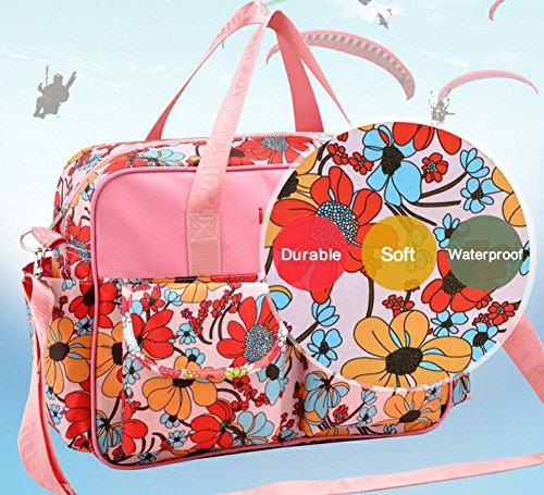 Momia multifunción bebé cambiador de pañales mochila bolsa de viaje bolso de hombro Dandelion Dandelion