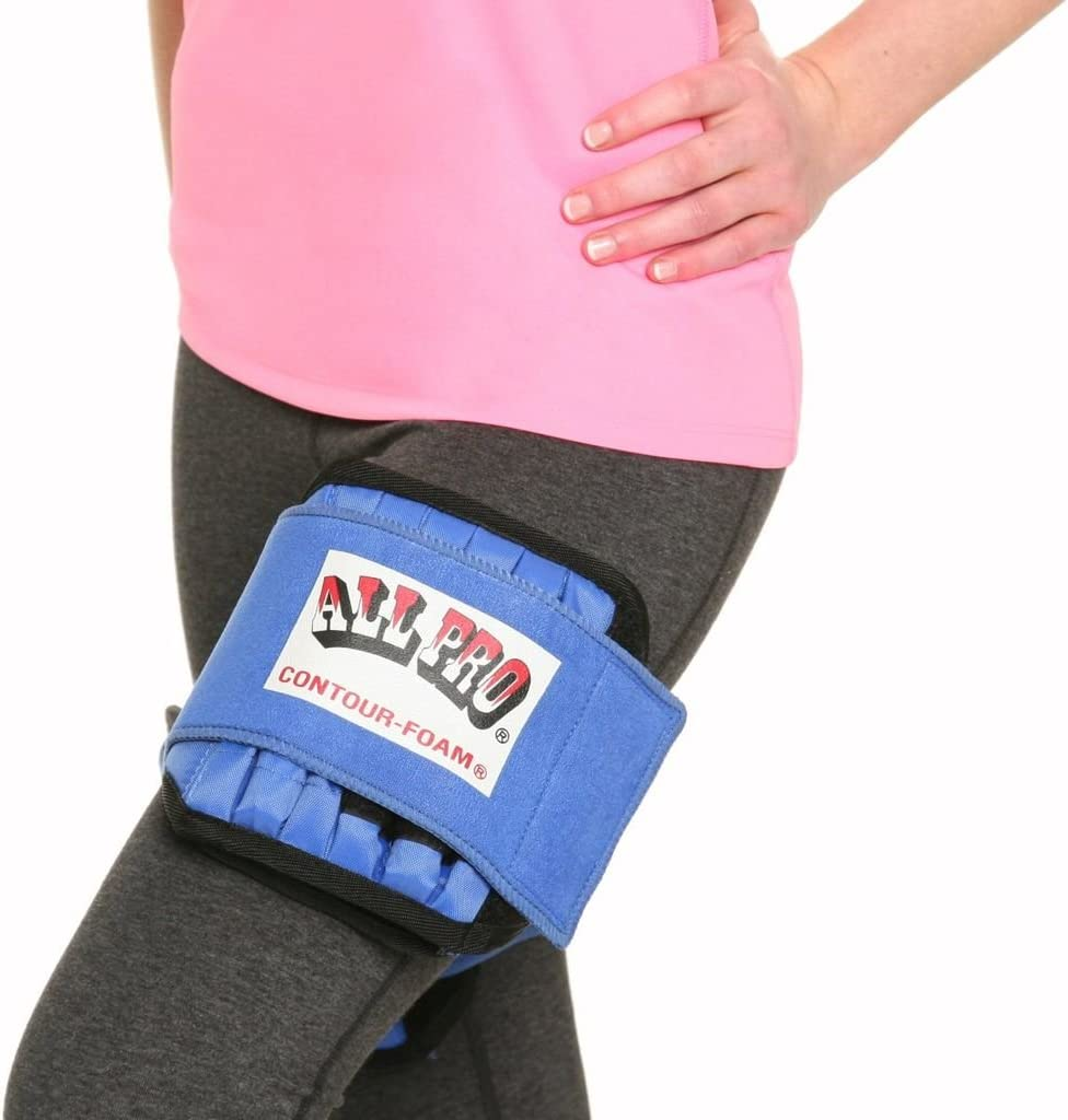 6-Pound All Pro Weight Adjustable Aquatic Thighaciser Thigh Weights