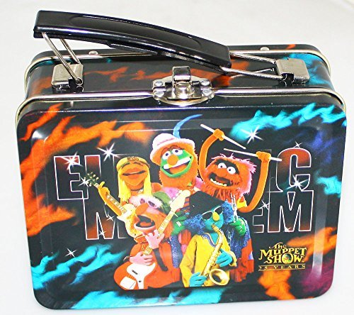 (The Muppet Show 25th Year Anniversary Electric Mayhem Mini Lunch Box/Tin 2002 Palisades Toys)
