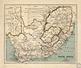 Map Poster - South Africa. - 24''x20.5''