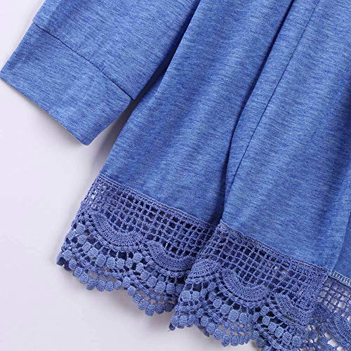 Automne Cardigan Hiver Femmes Dentelle en Kimono GreatestPAK xxRPvF