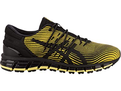 buy online 8e0b0 2b4b9 ASICS Men s Gel-Quantum 360 4 Running Shoes, 7M, Yellow Black