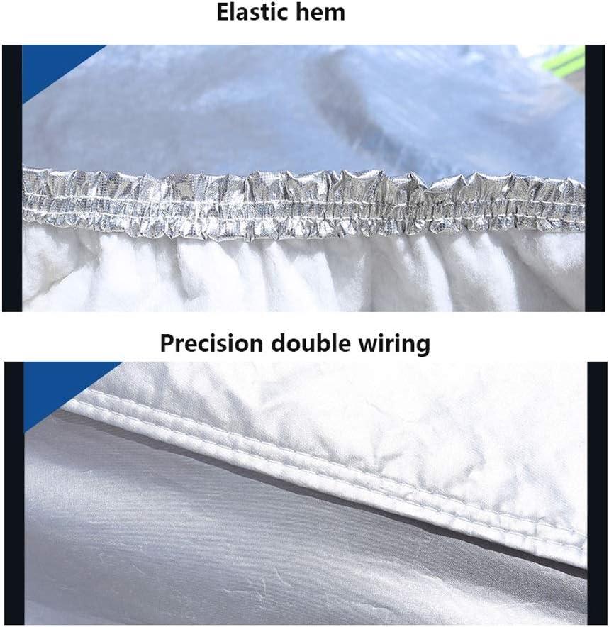 Color : Checkered LIAOMJ-Housses pour auto Compatible avec LEXUS RX450h NX300 Rx450 RX300 UX200F sp/écial SUV Couverture sp/éciale Thicken Pare-soleil Pare-brise V/êtements B/âche anti-pluie voiture