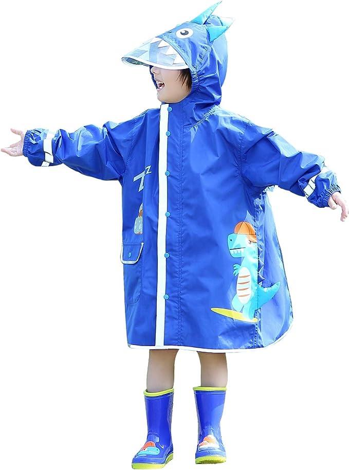 Kinder Regen Jacke Neu Reflektoren