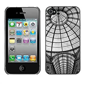 Exotic-Star ( Architecture New York Metro Station ) Fundas Cover Cubre Hard Case Cover para Apple iPhone 4 / 4S
