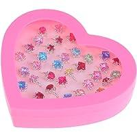 NUOBESTY 36 piezas anillos de dedo de diamante
