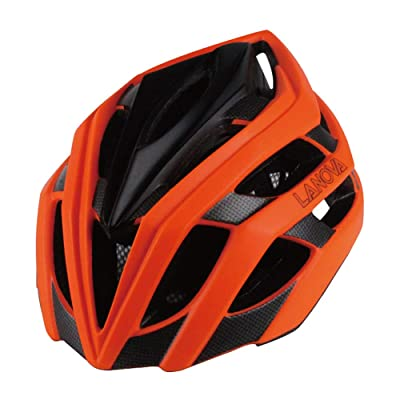 Skateboard Bicycle Helmet Road Bike Bicycle One-Piece Male and Female Models Riding Helmet-Orange-L(58-61cm) : Sports & Outdoors