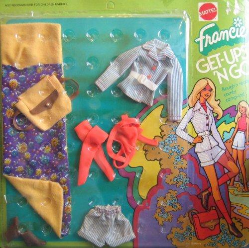 (Barbie FRANCIE Get Ups 'N Go Rough 'n Ready Comfy Camp Ins! (1973 Mattel Hawthorne))