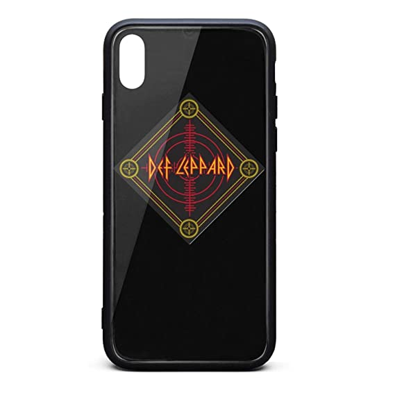 buy online a4966 41016 Amazon.com: iPhone Xs/iPhone X Case Def-Target-Bandana-Leppard- Slim ...