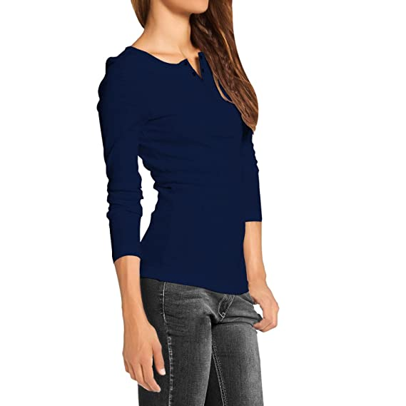 3758b700b9f AALRYT Ladies top for Women Cotton Women Tshirts  Amazon.in  Clothing    Accessories