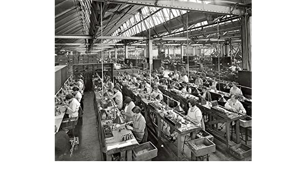 Amazon Com Atwater Kent Radio Factory 1920s 8x10 Photo 4