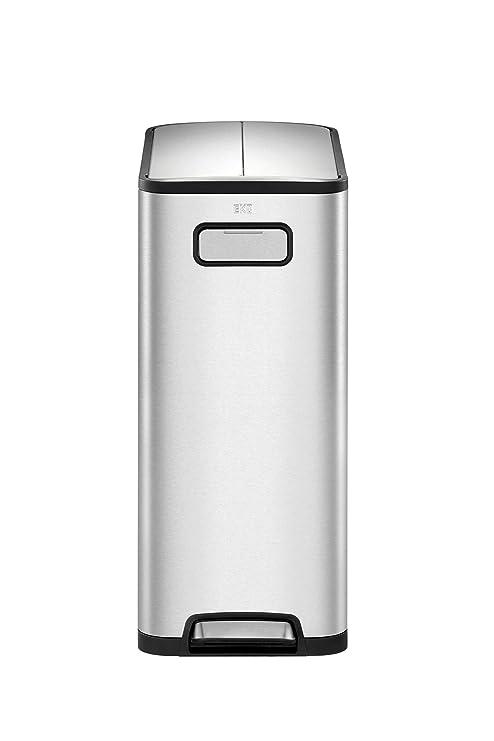 Amazon.com: EKO Eco-Fly - Taza de basura con doble ...