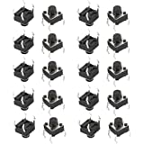 Maker And Hacker 25 Pcs Push Button Switch (Dip)