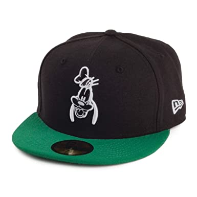 a883bedced0 New Era 59FIFTY Disney Goofy Baseball Cap - Black-Green 7 1 8 ...