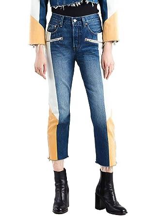 Pantalon Vaquero Levis 501 Moto Mujer: Amazon.es: Ropa y ...