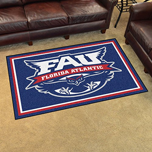 Fan Mats 20159 Florida Atlantic University Owls 4' x 6' Area Rug ()
