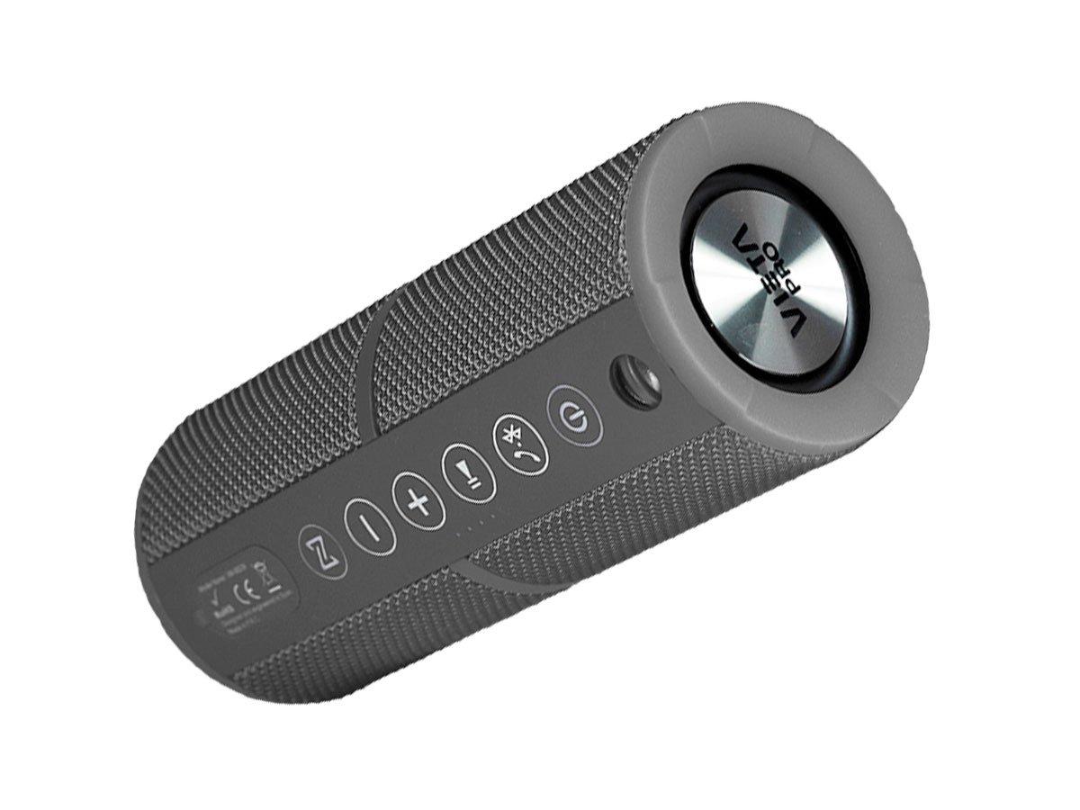 Vieta VM-BS39GY - Altavoz inalámbrico portátil con Bluetooth, color gris