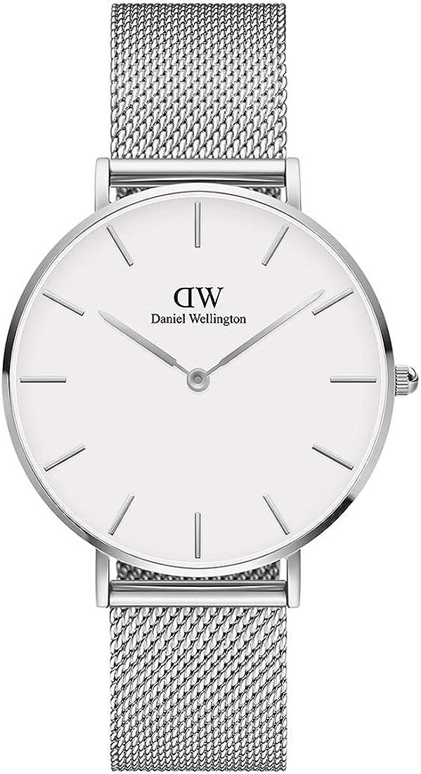 Daniel Wellington Petite Sterling Reloj, Unisex, Metálico