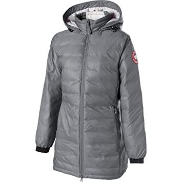 320f249940a3 Canada Goose Camp Down Hooded Jacket - Women s Mid Grey