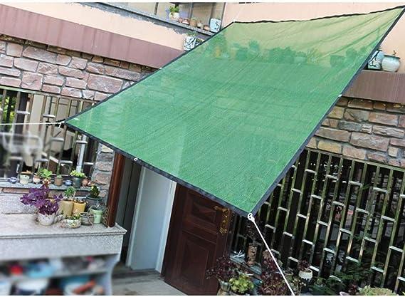 Feifei 75% Sunblock Shade Net Sun Sombra Tela para Cubrir pérgola Plantas Flores, Plantas, Patio Césped (Color : Green, Tamaño : 2×1.8m): Amazon.es: Hogar