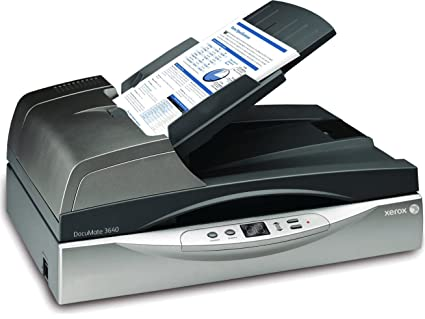 amazon com xerox documate 3640 departmental duplex 40 ppm 80 ipm rh amazon com Digital Scanner Xerox DocuMate 510