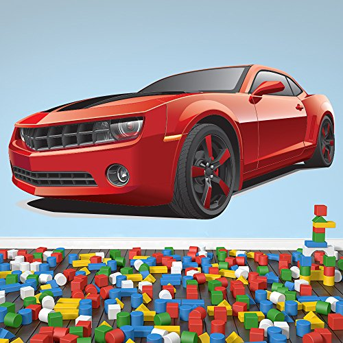 azutura Red Chevrolet Camaro Wall Sticker Sports Car, used for sale  Delivered anywhere in Canada