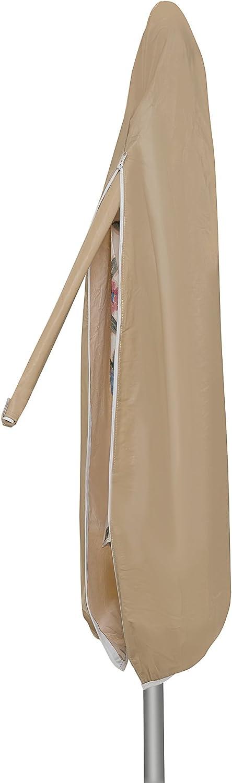 Protective Covers 1174-TN Weatherproof Umbrella Cover, Fits umbrellas 8.5 x 11 Feet, Tan