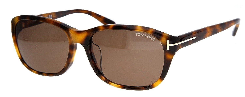 147104ab2b0 Tom Ford Woman Sunglasses London Brown FT0396-F-6052J  Amazon.co.uk   Clothing