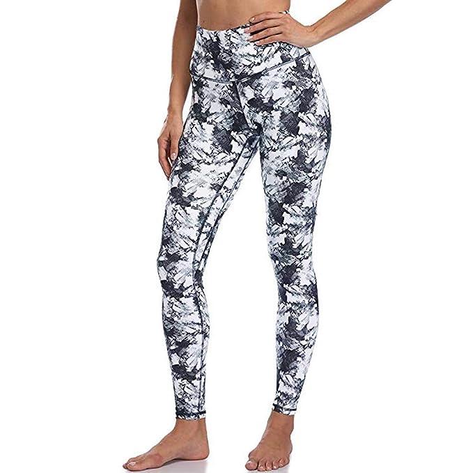 beetleNew Mujer Ropa INS Damas Pantalones de Yoga Ajustados ...