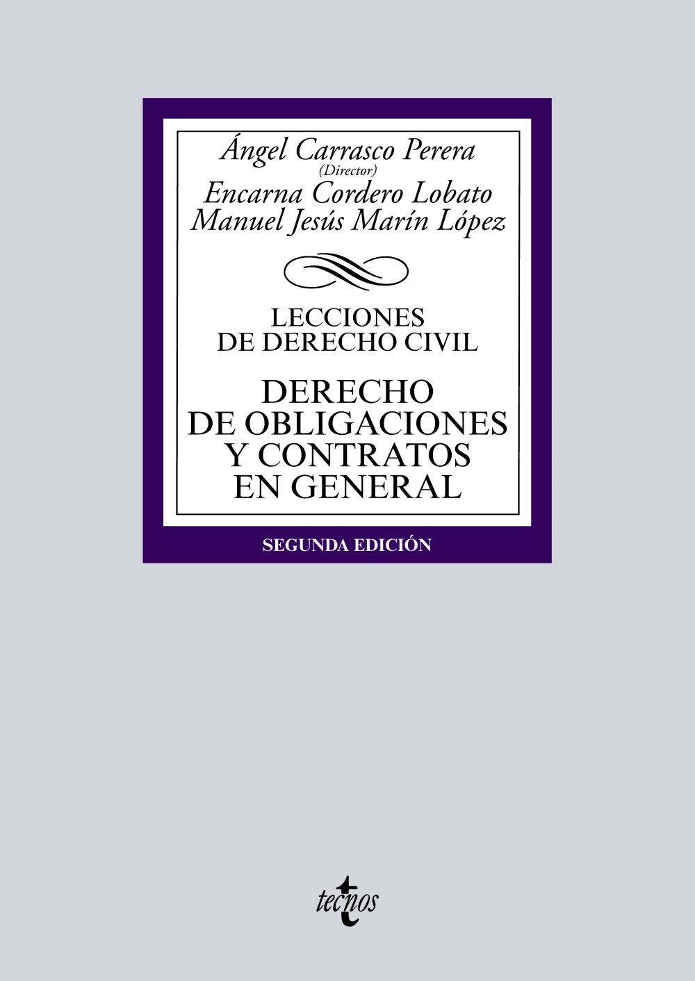 Derecho de obligaciones y contratos ebook