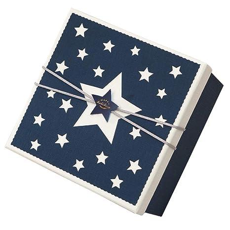 Caja de Regalo de San Valentín Cuadrado Caja de Fiesta de cumpleaños Azul de Five-