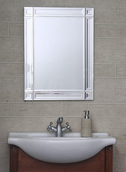 . Bath boutique s Designer Bathroom Mirror Fancy Wall Mount 18 inch x 24 inch