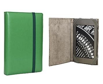 ANVAL Funda para EBOOK BQ Cervantes Lite - Color Verde: Amazon.es ...