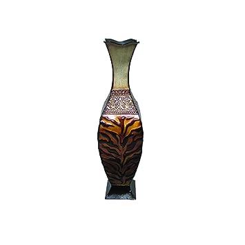 Amazon Home Source 500 28745 C Table Top Animal Print Vase 24
