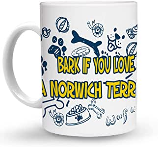 Amazon.com: Makoroni - BARK IF YOU LOVE A NORWICH TERRIER