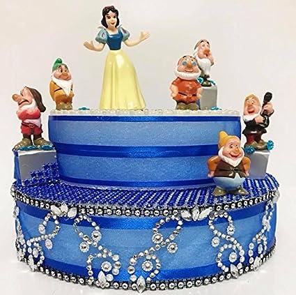 Awe Inspiring Amazon Com Snow White And The Dwarfs Birthday Cake Topper Or Funny Birthday Cards Online Alyptdamsfinfo