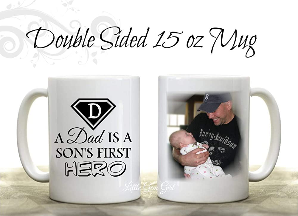 Customize Details about  /Proud Navy Dad Coffee Mug 15oz