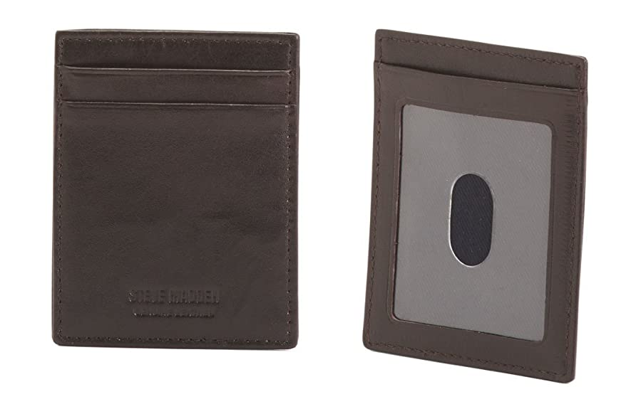 STEVE MADDEN Antique Leather Business Card Carrier at Amazon Men\'s ...