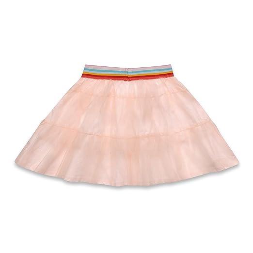 Esprit Kids Woven Skirt Falda, Rosa (Pearl Rose 309), 104 para ...