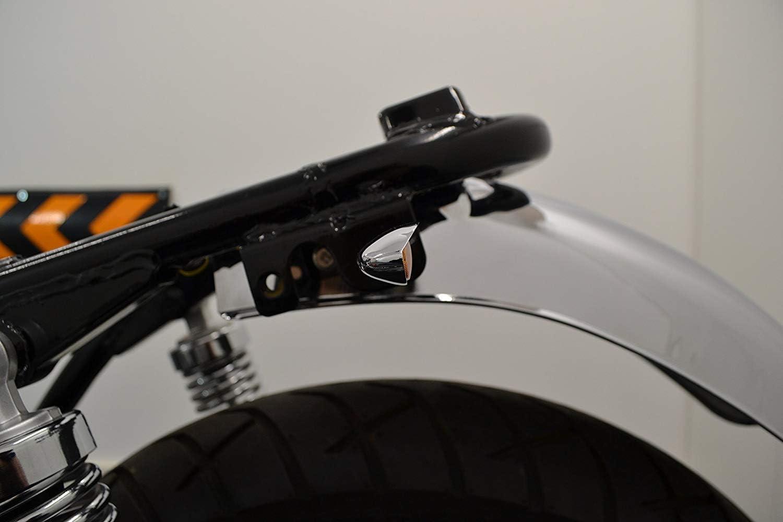 Metall Kundenspezifisch Chrom Motorrad Birne Blinker Paar