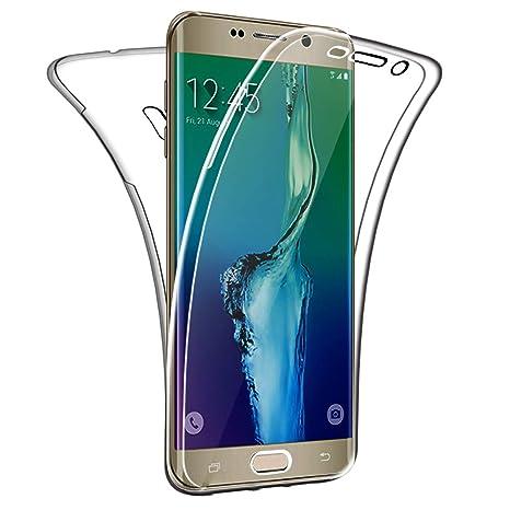 SDTEK Funda para Samsung Galaxy S6 Edge Plus 360 Doble ...