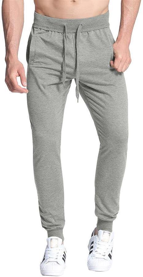 Licoers Pantalones De Deporte Para Hombre Pantalones Tipo Haren Pantalones Casuales Para Correr Danza Deportes Cintura Holgada Pantalones Elasticos Amazon Es Deportes Y Aire Libre