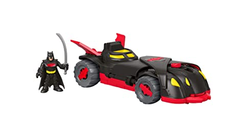 Fisher-Price - Imaginext DC Batmóvil Camuflaje Ninja, Juguetes Niños +3 Años (Mattel FTG92)
